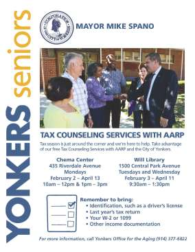 AARP-TAX Help - Flyer