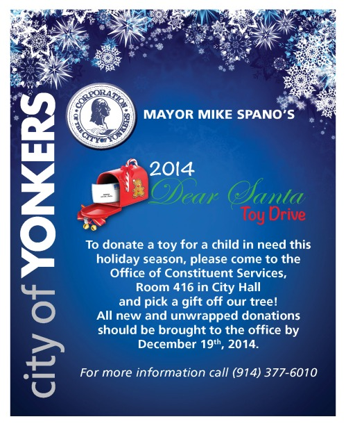 Mayor's Dear Santa Toy Drive