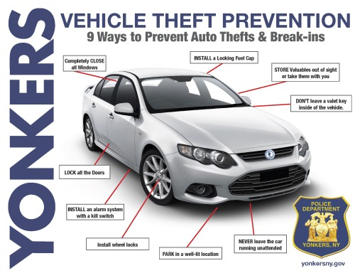 YPD-Vehicle Theft Prevention